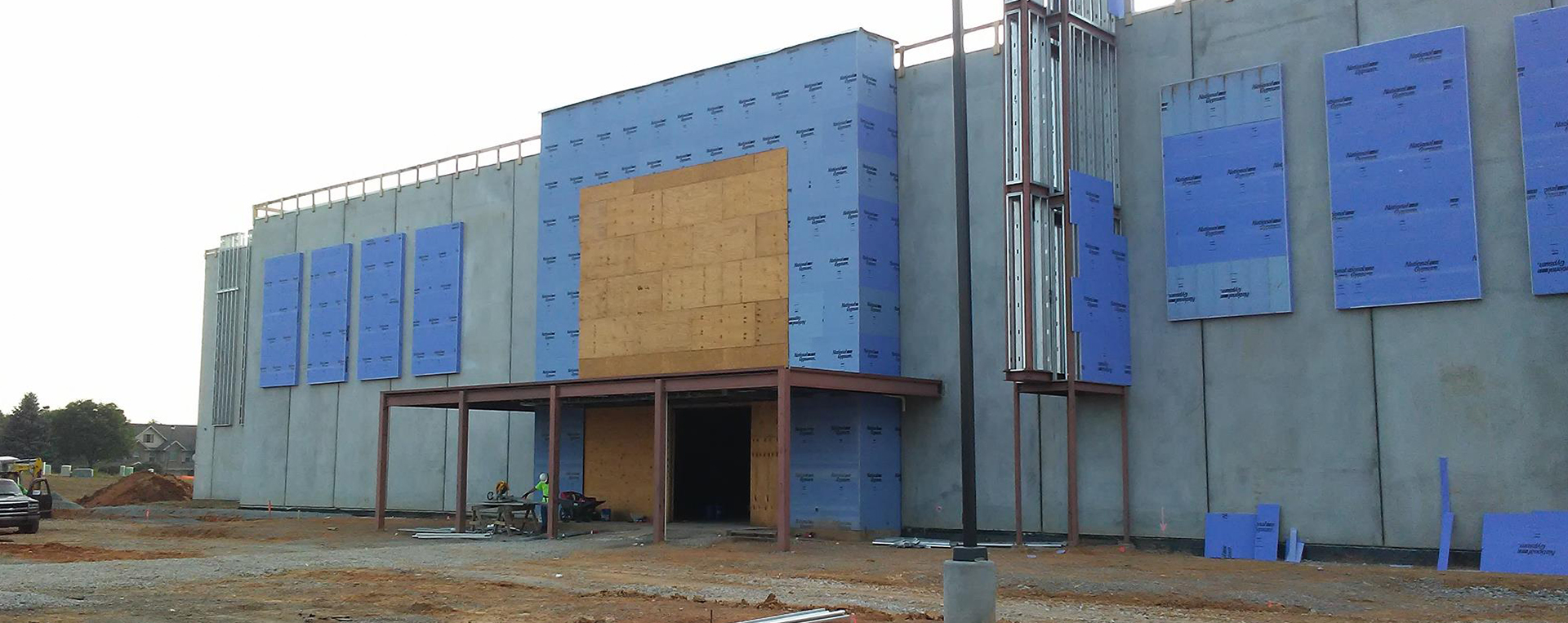 Facade Progress